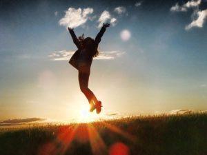 стрибок дія радість натхнення