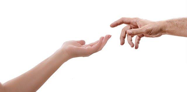 руки жінка дія допомога