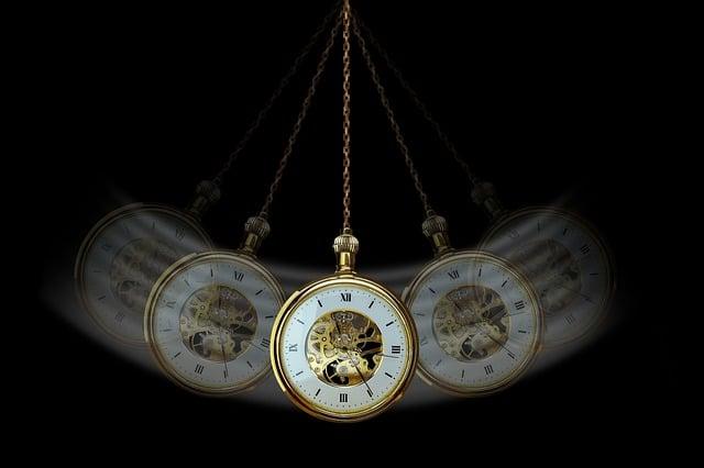 годинник маятник коливання