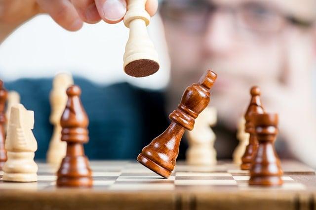 стратегія перемоги шахи упередження